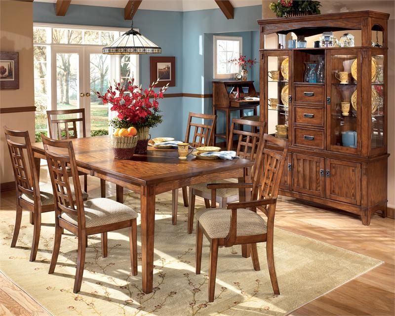 Signature Design By Ashley Cross Island Rectangular Dining Room Extension Table Cost