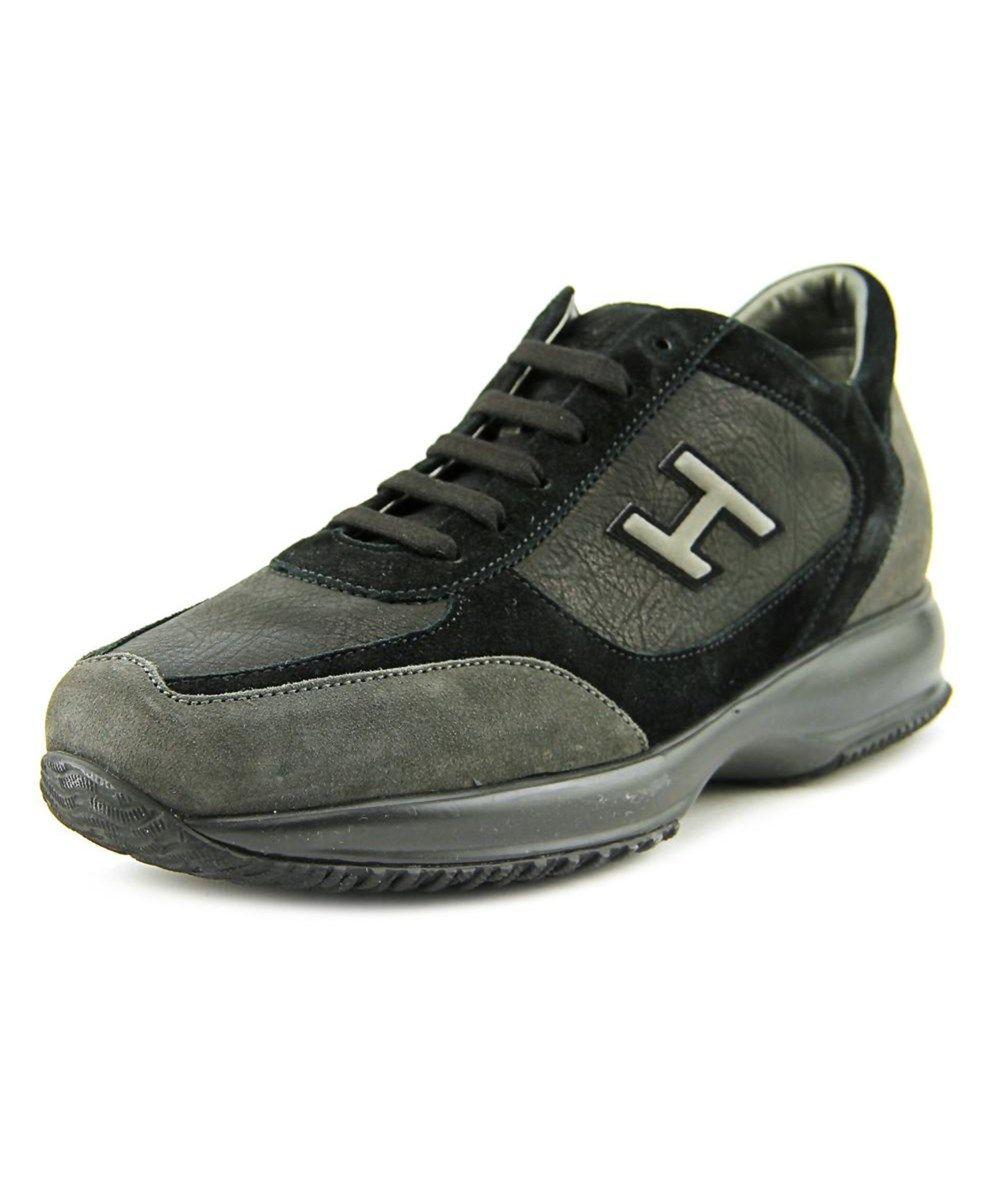 HOGAN Hogan New Interactive Uomo H Flock Round Toe Suede Tennis Shoe .   hogan  shoes  sneakers 9e9989fc24c