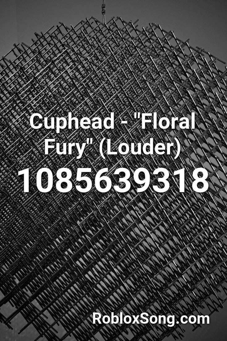 """Cuphead """"floral Fury"""" (louder) Roblox ID Roblox Music"""