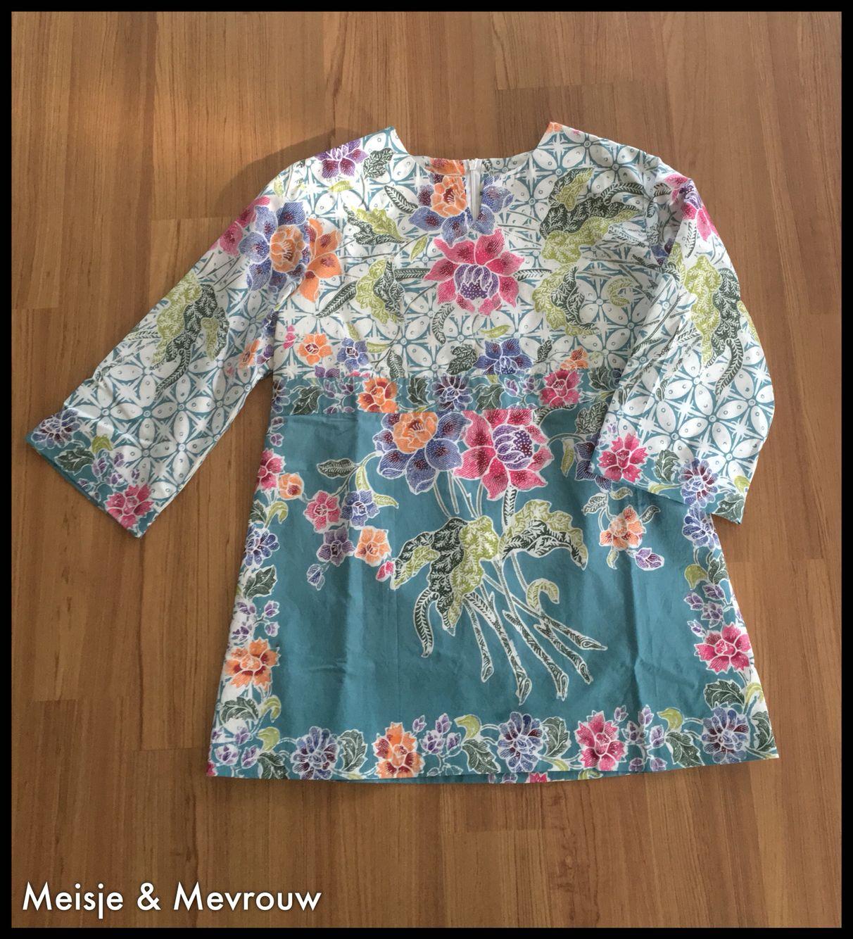 Batik Top Made Of Batik Encim Pekalongan (With Images