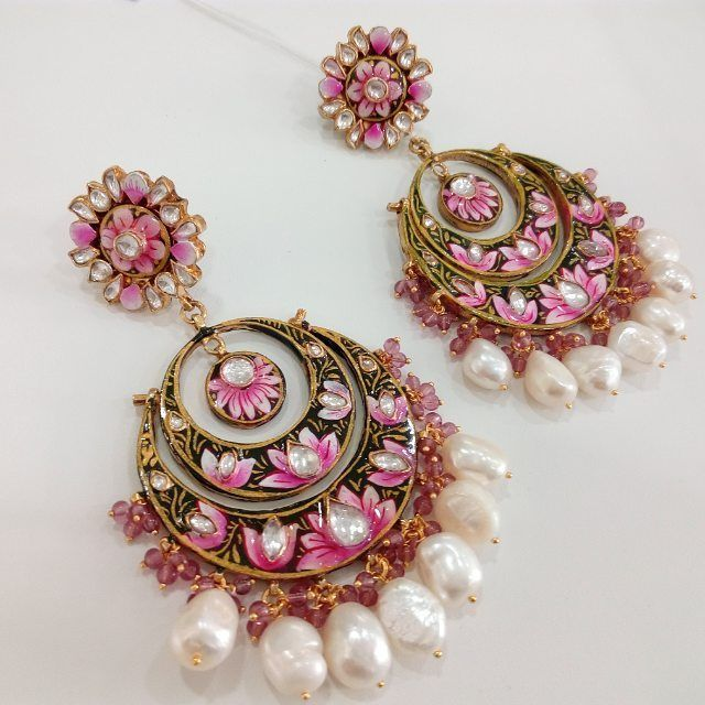 ko gold shopping online silver shops buy jaipur jewellery collections meenakari large kundan plated