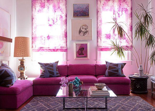 wohnzimmergestaltung der trendfarbe orchideen lila, desiretoinspire | for the home | pinterest | wohnzimmer, haus, Ideen entwickeln