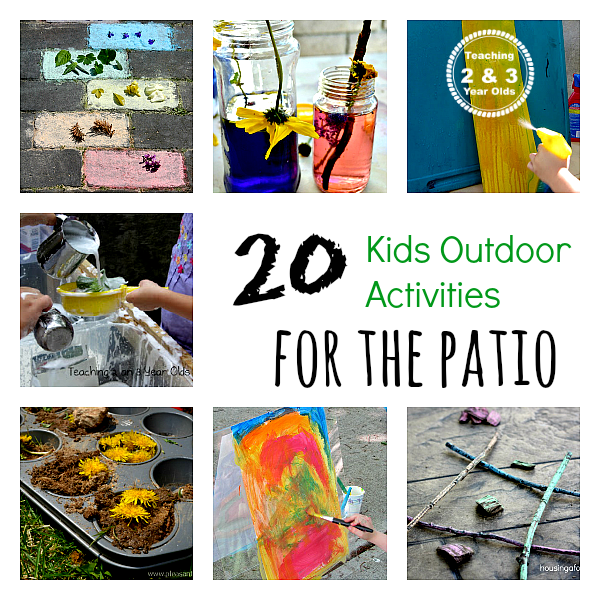 Preschool Outdoor Activities That Can Be Done Small Spaces ...