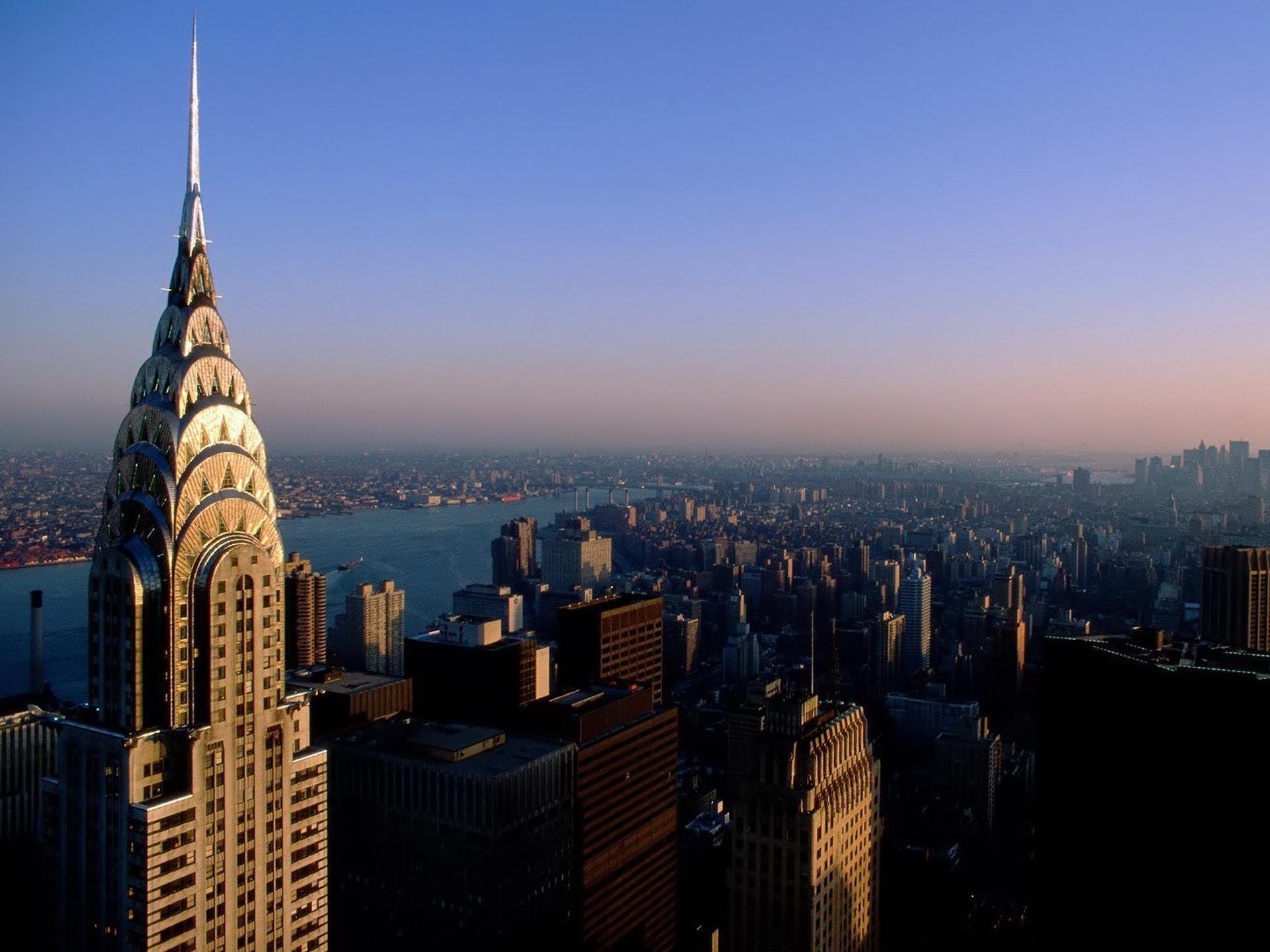 New York City Hd Wallpaper Chrysler Building Empire State