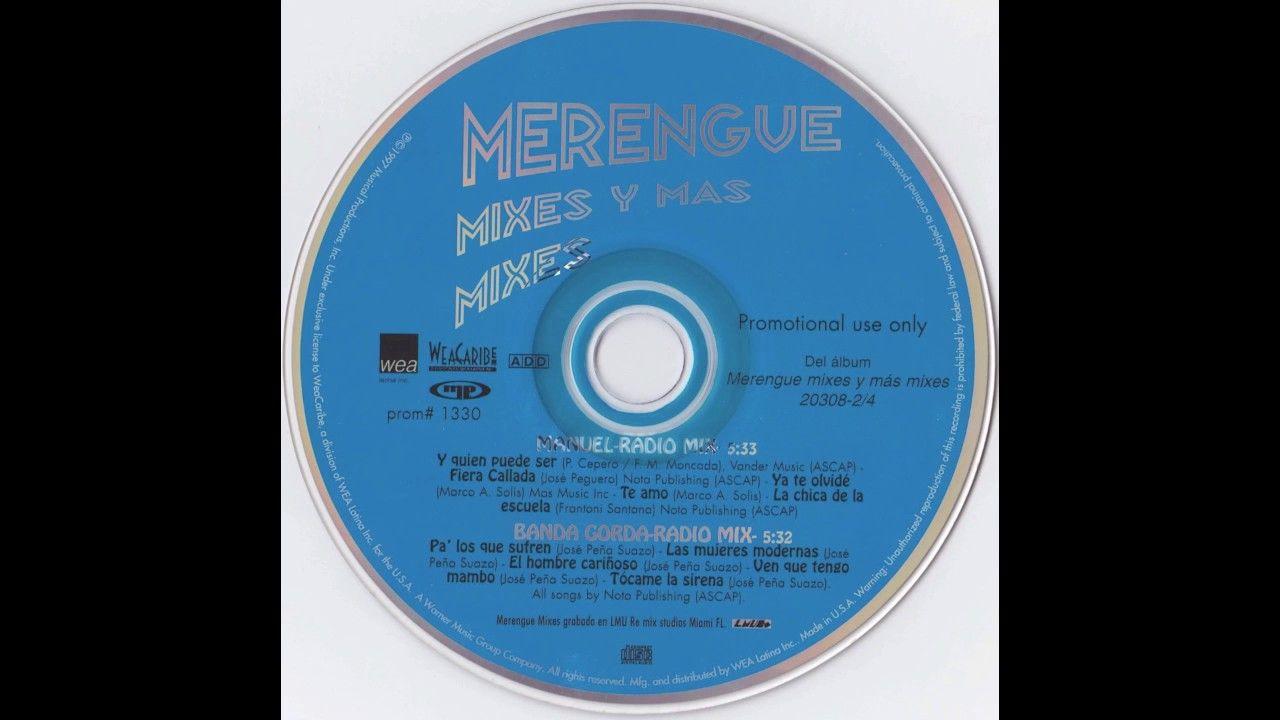 Merengue Mixes y Mas Mixes Vol  2 - Banda Gorda Radio Mix