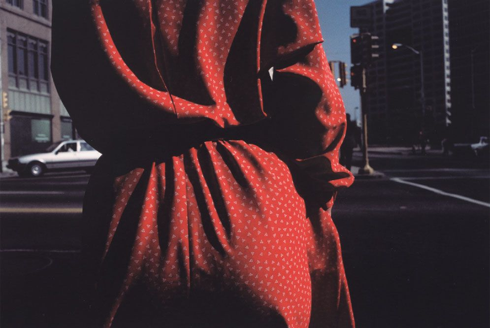 Harry Callahan (en Atlanta, en 1984)