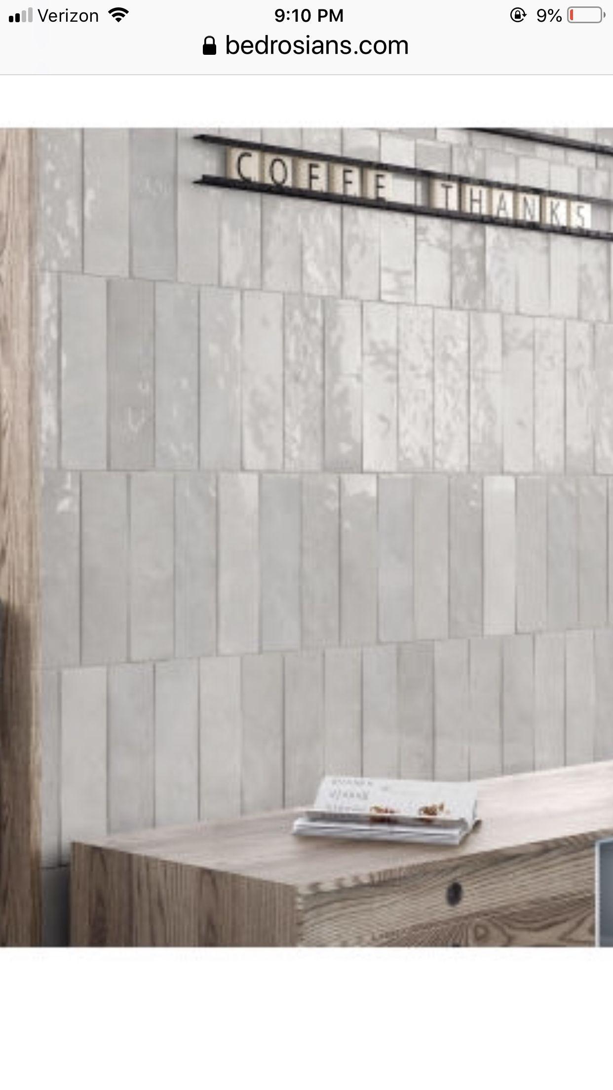 Bedrosian Tile Cloe Gray 2x8 Bathroom Inspiration Bath