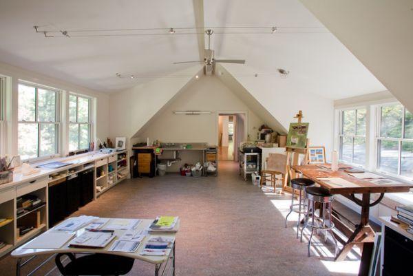 19 Artistu0027s Studios And Workspace Interior Design Ideas Design Inspirations