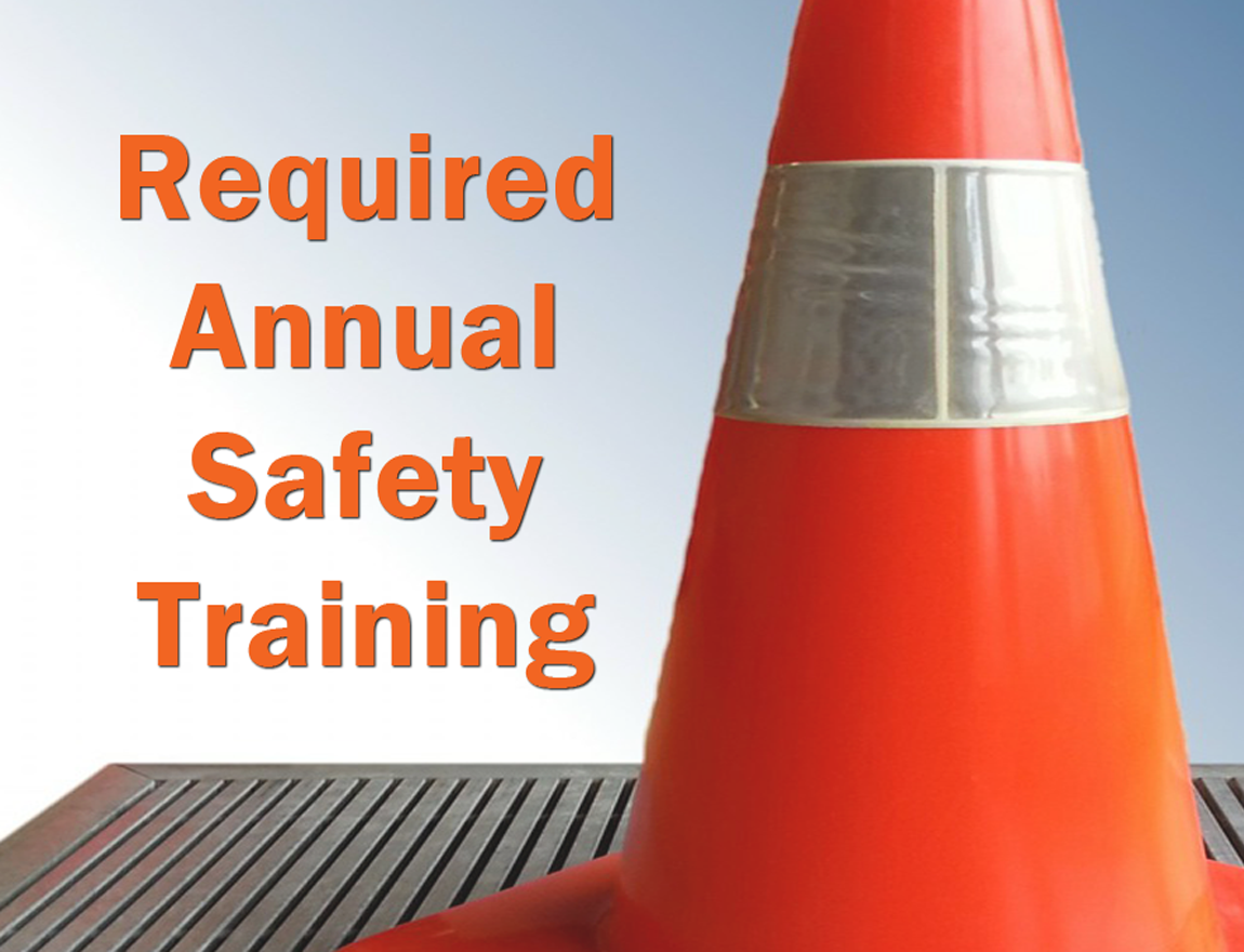 Annual Safety Training Requirements for Your Calendar