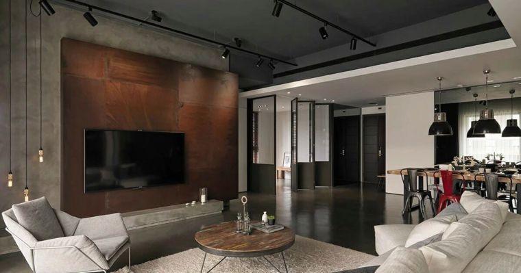 Intérieur maison moderne avec décoration asiatique | Salons and ...