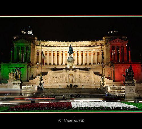 Il Vittoriano - 150 ANNI AUGURI ITALIA -