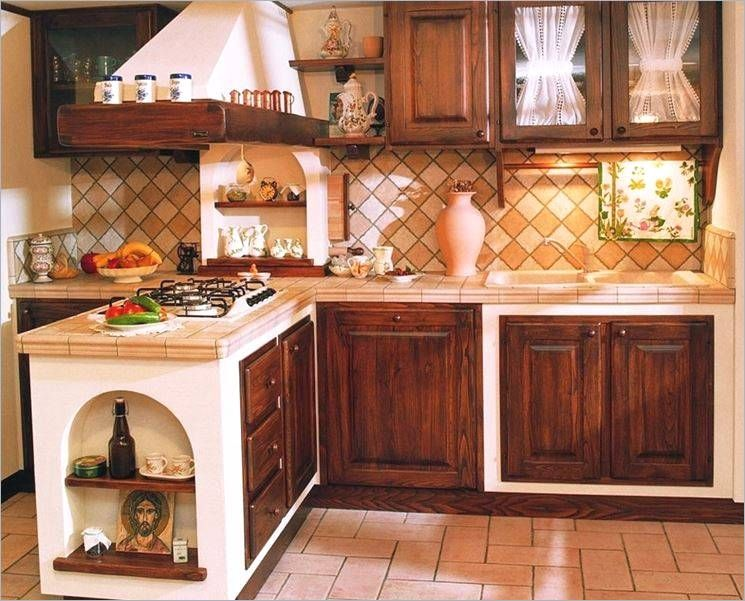 Mattonelle 10×10 Cucina In Muratura Prezzo Piastrelle Per ...