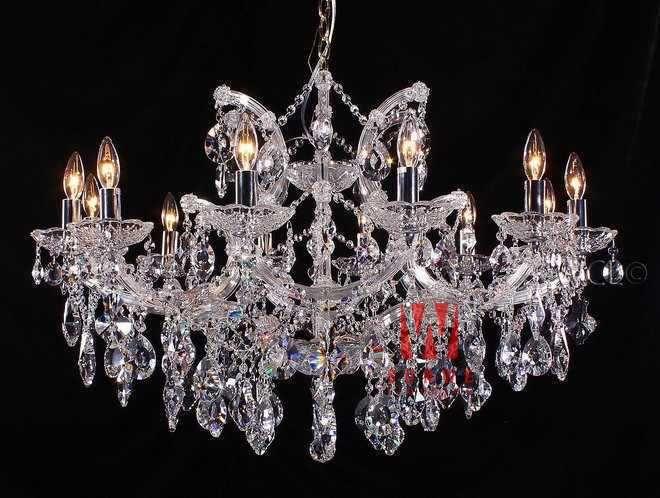 Aliexpress Com Buy 12 Lights Decorative Crystal Chandelier