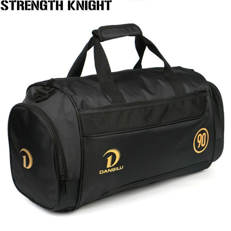 Travel Luggage Duffle Bag Lightweight Portable Handbag Gold Ring Large Capacity Waterproof Foldable Storage Tote