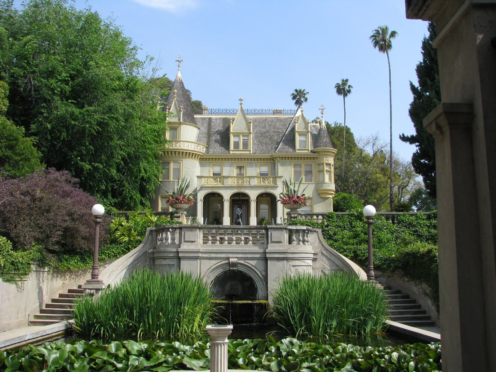 Kimberly Crest Castle In Redlands Ca Fairytale Engagement Photo Sho