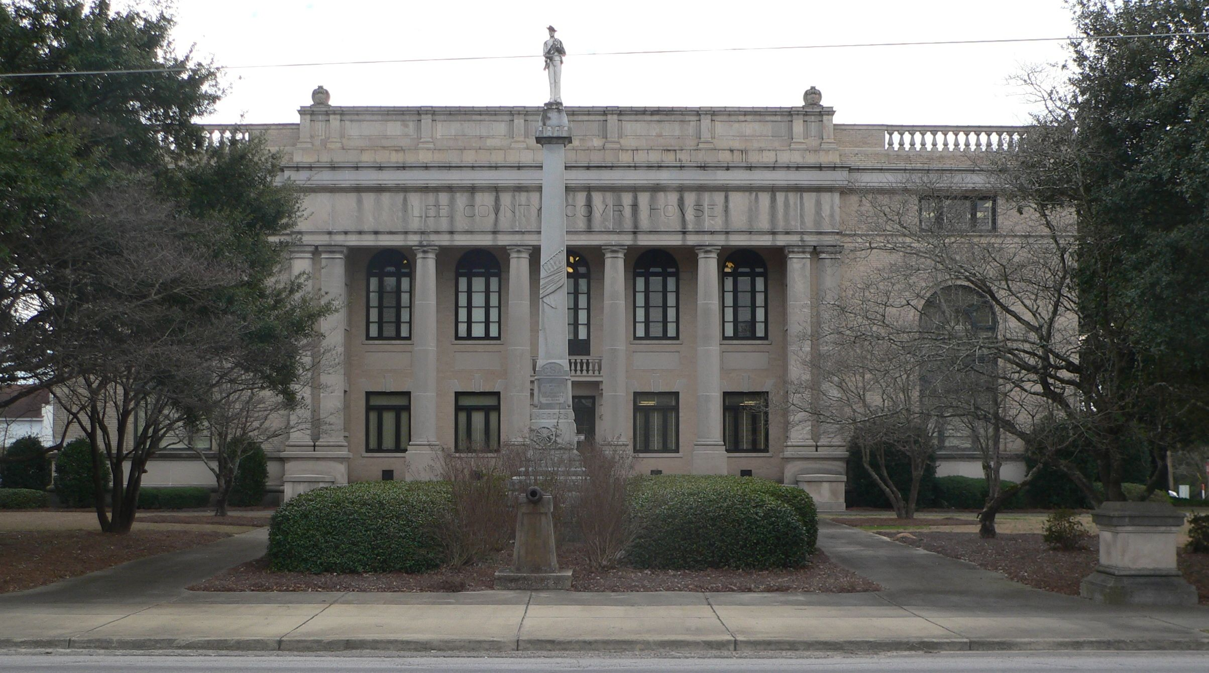 Lee County Courthouse Bishopville SC | South Carolina
