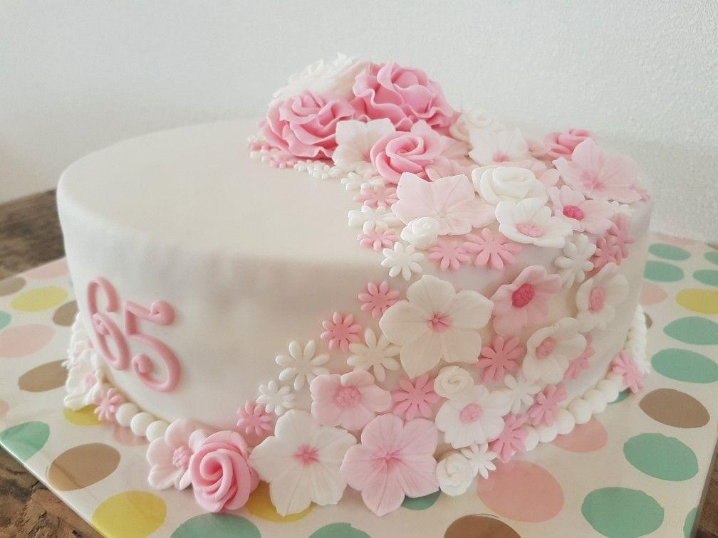 Wonderbaarlijk Taart bloemen roze / cake flowers pink | Roze cake, Taart bloemen IK-43