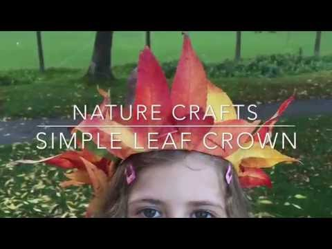 Autumn Leaf Crowns (Nature Only Needed)