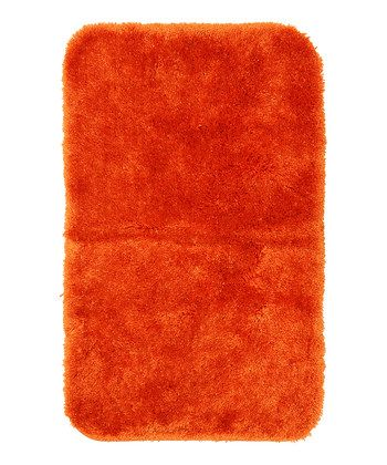 Bright Orange Royal Er Bath Rug 17