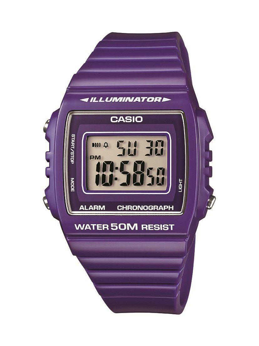 fcbb3bd6a2c8 Casio W-215H-6AVEF - Reloj digital de cuarzo con correa de resina ...
