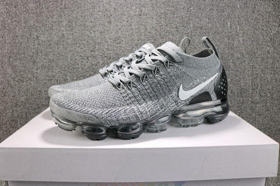 6714bcdc920 Nike Air Vapormax 2 Dark Grey 942843002 Wolf Greyblack Genuine Sneaker