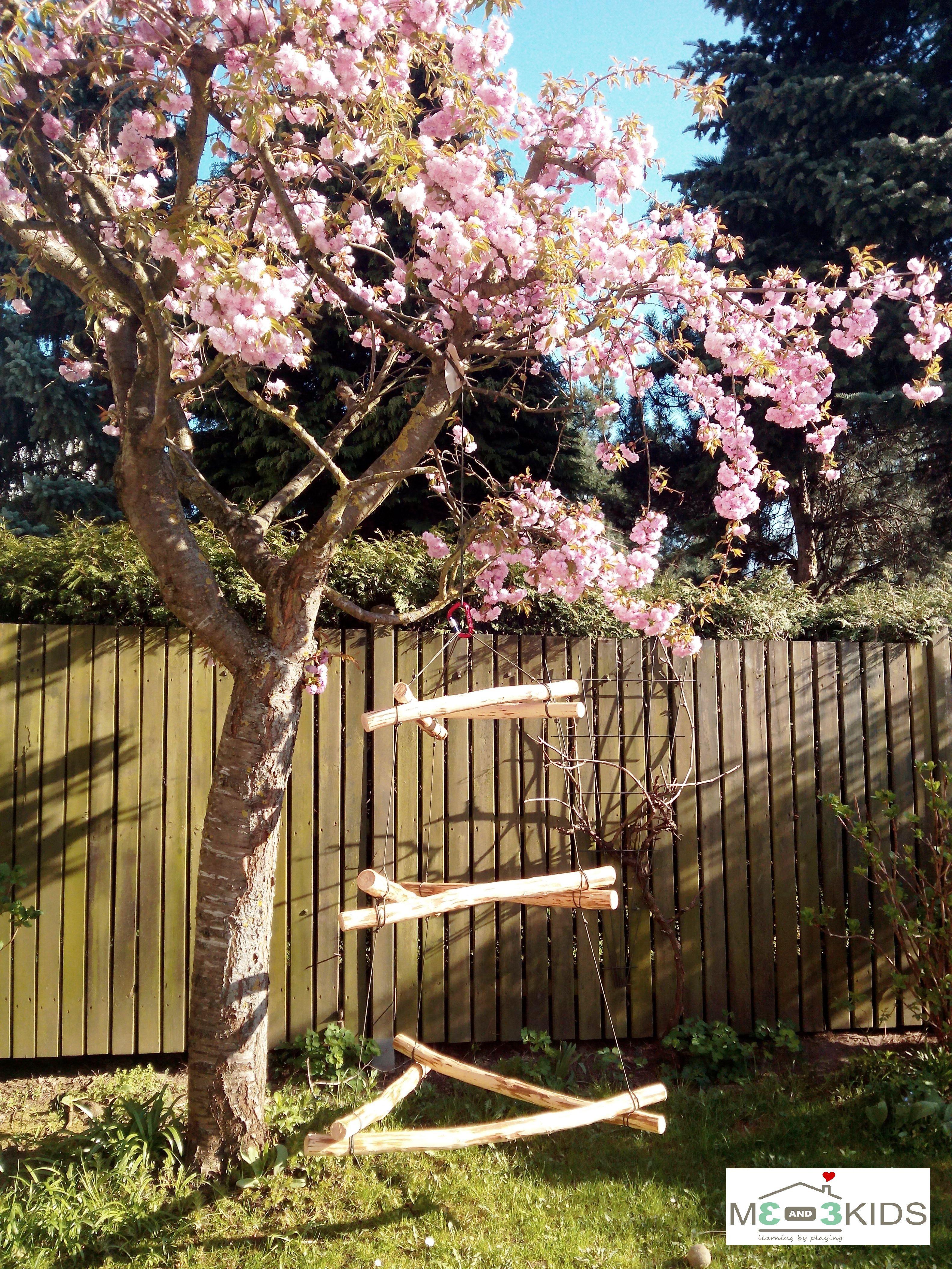 DIY Anleitung für ein Waldorf Klettergerüst ais Holz. Leicht und ...