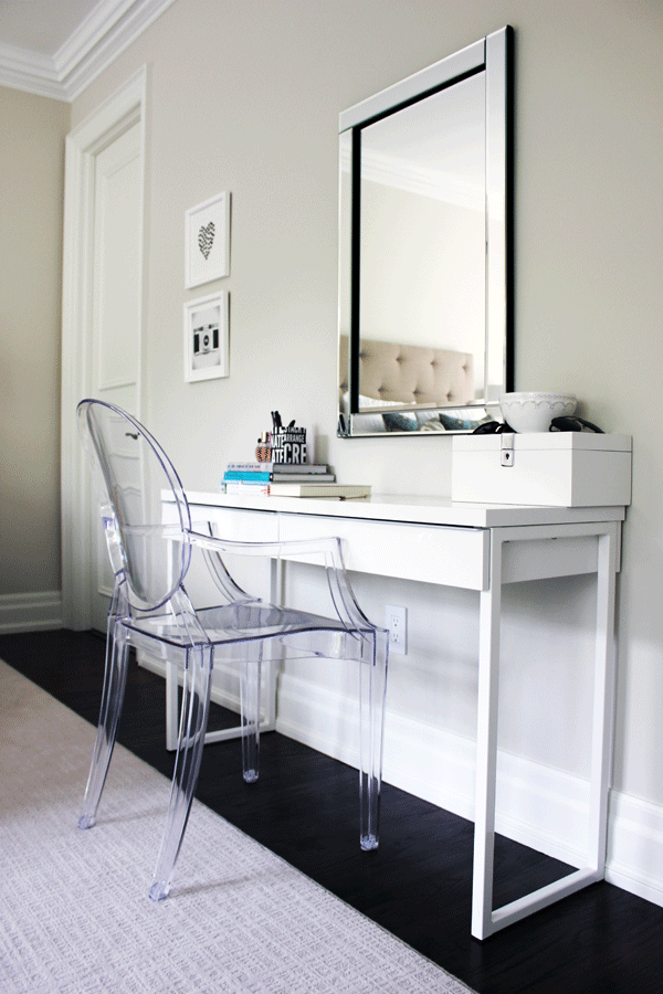 The ghost chair: Eight decorating ideas | My Home | Bedroom chair ...