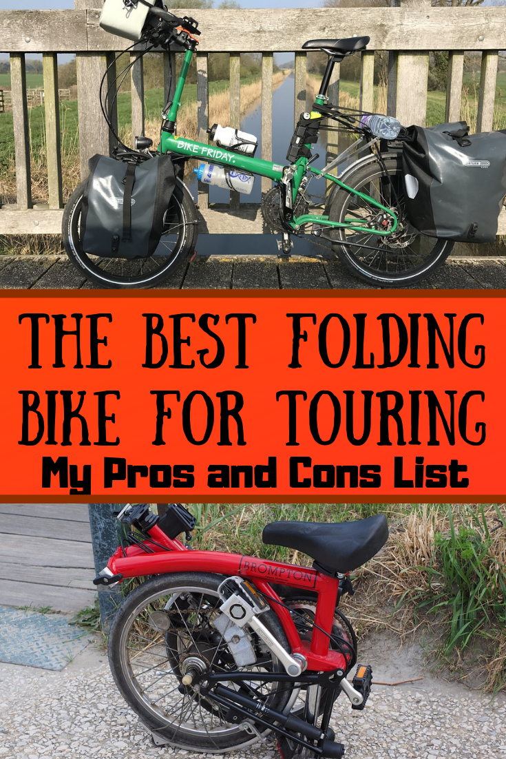 The Best Folding Bike For Touring My Pros And Cons List Folding