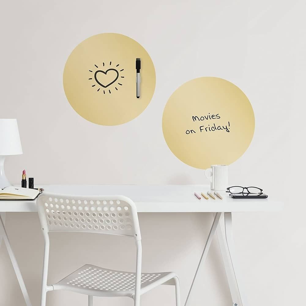 Wall Pops Foil Dry Erase Dot Decals Metallic Wall Vinyl | Products ...