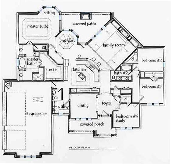 Texas House Plans   #newconstruction #floorplans