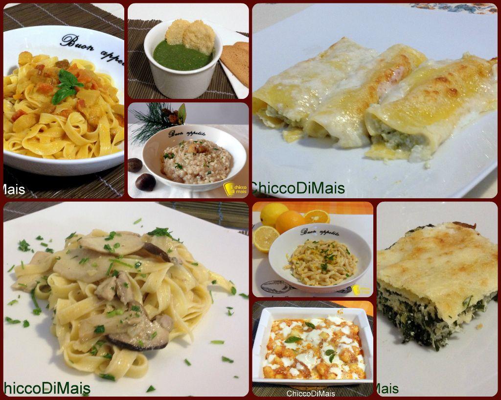 10 primi per natale ricette vegetariane natale pasta - Secondi piatti da cucinare in anticipo ...