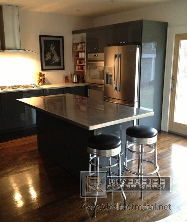 Stainless Steel Counter Tops Kitchen Islands Commercial Center Fascinating Kitchen Island Counter Design Ideas