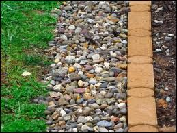 Need An Open French Drain To Keep Water Away From Our House French Drain Sloped Garden Backyard Drainage