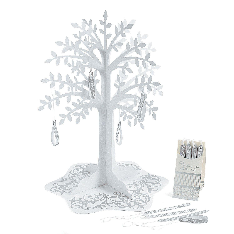 Silver Swirl Wishing Tree Centerpiece - OrientalTrading.com Erika ...