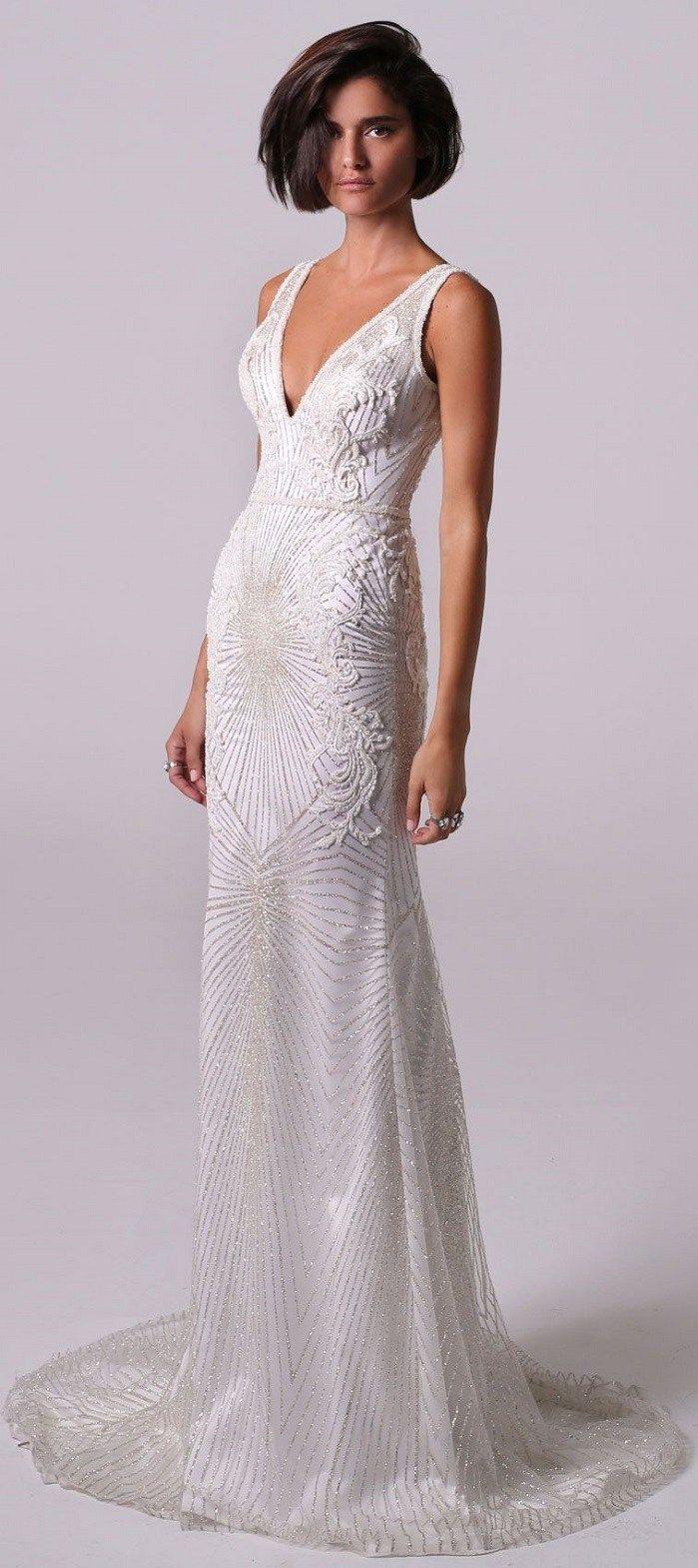 Short wedding dresses for older brides  Michal Medina  Wedding Dresses  Wedding Dresses  Pinterest