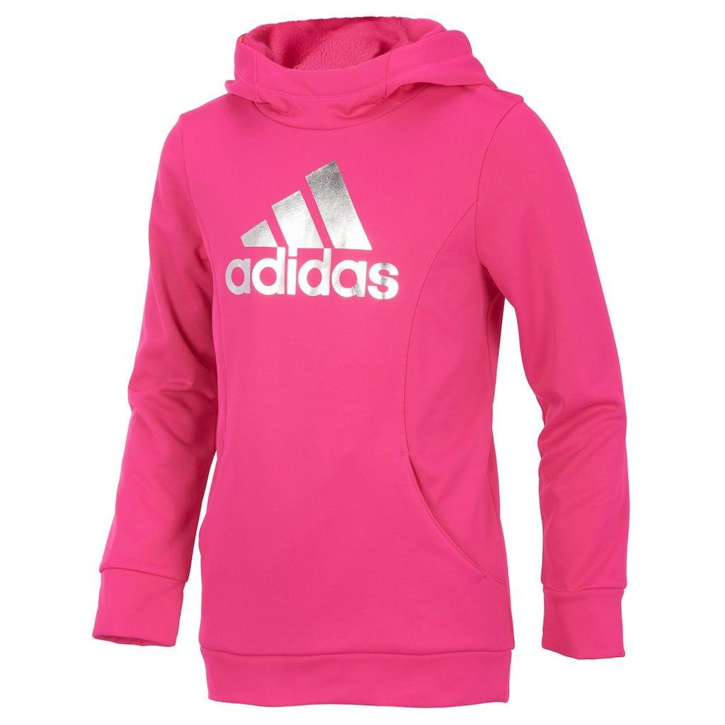 size 40 ca2e6 5007d Girls 7-16 Adidas Performance Sweatshirt, Size Medium, Med Pink