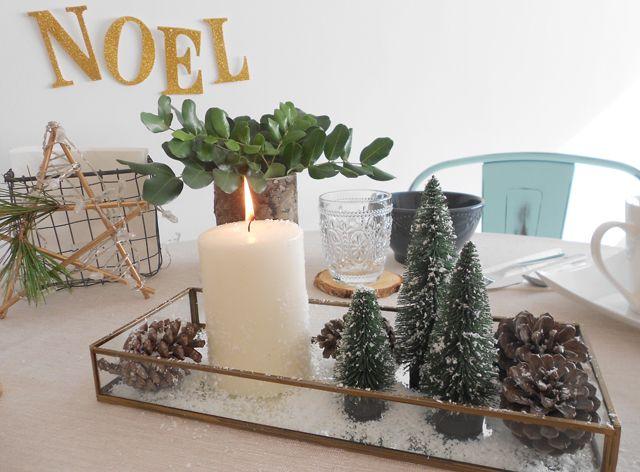 Centros mesa Navidad via La Garbatella Navidad Pinterest