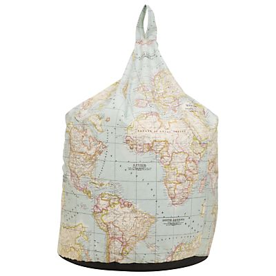John Lewis map beanbag