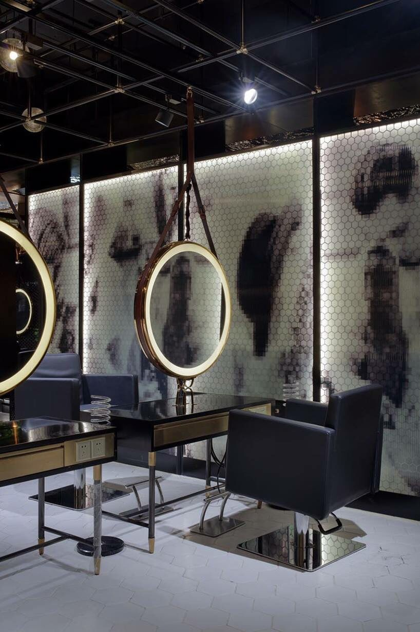 Pin By Marvin Ramirez On Egd Nail Salon Interior Design Salon Interior Design Hair Salon Interior