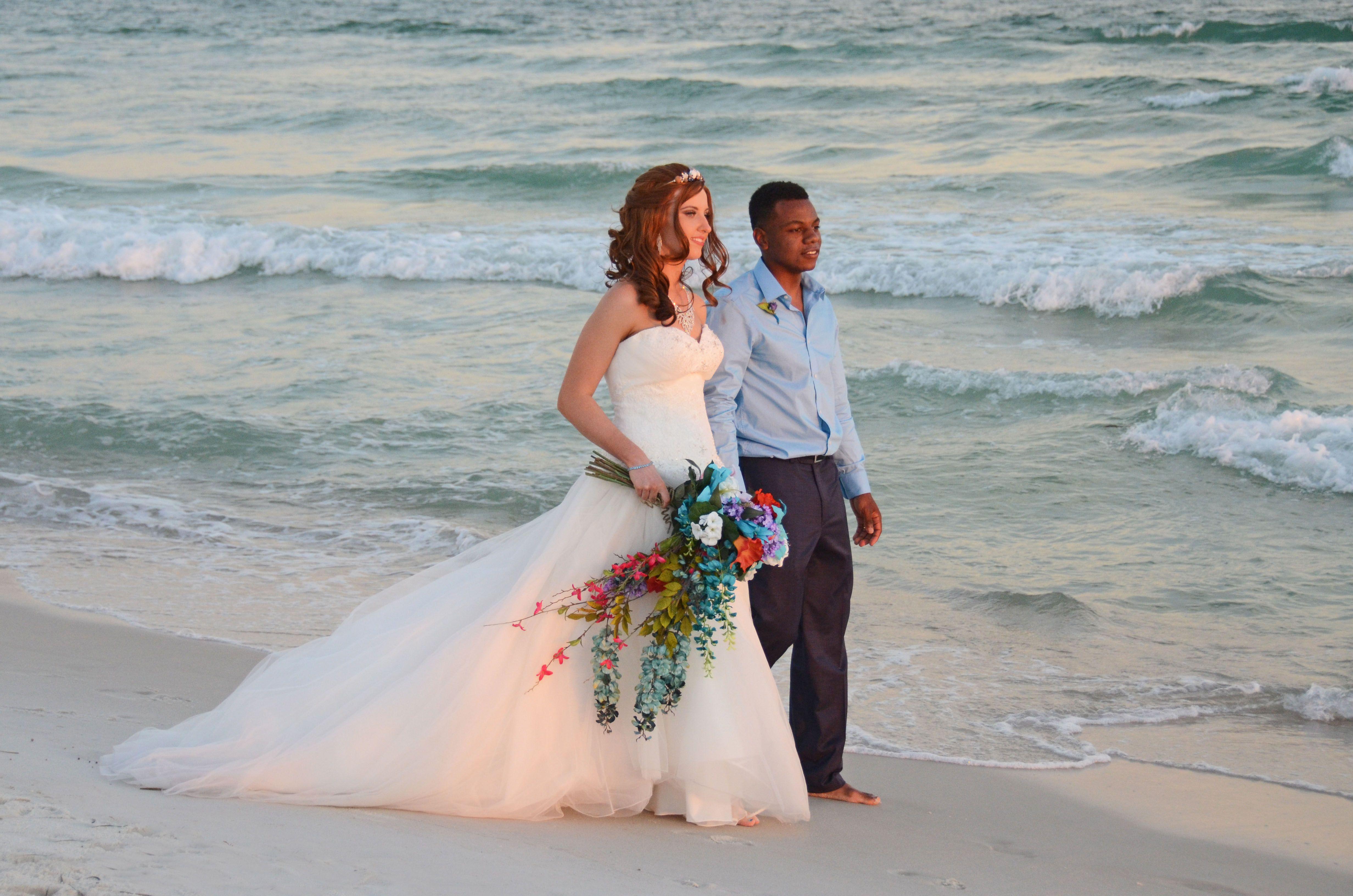Panama City Beach, Florida destination beach wedding