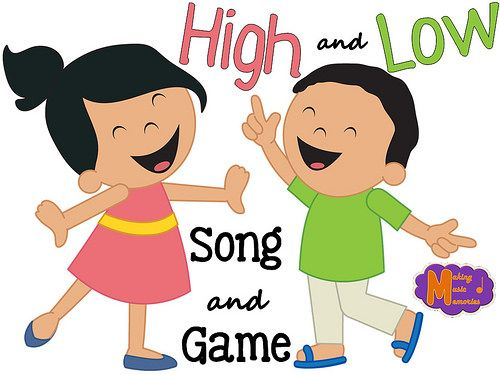 High and Low - Song and Game | Music classroom ideas ...