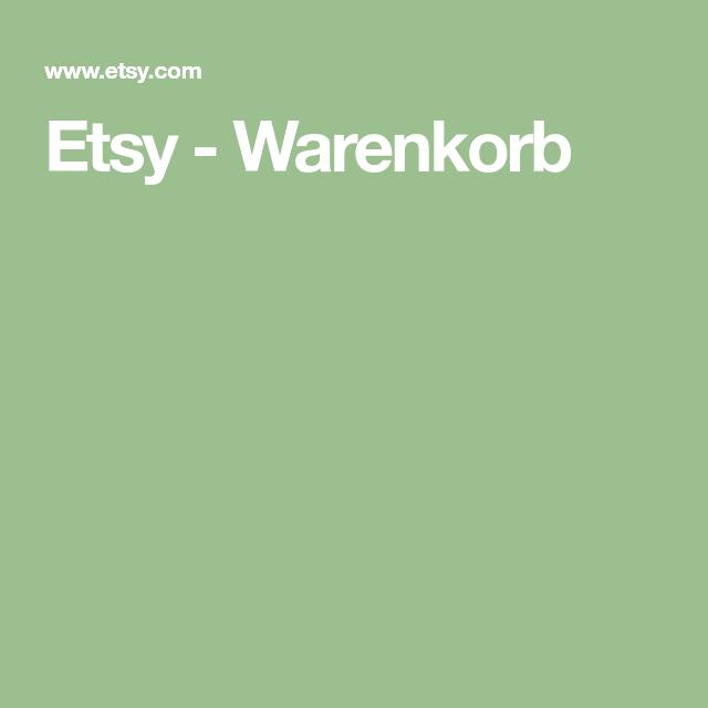 Photo of Etsy – Warenkorb