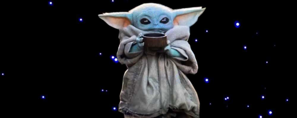 Two words Baby Yoda (With images) Yoda emoji, Tech girl