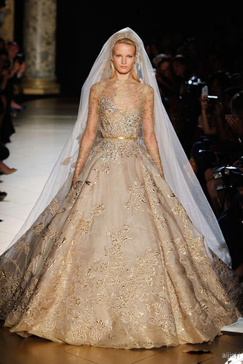 15 best images about gold wedding dress on pinterest