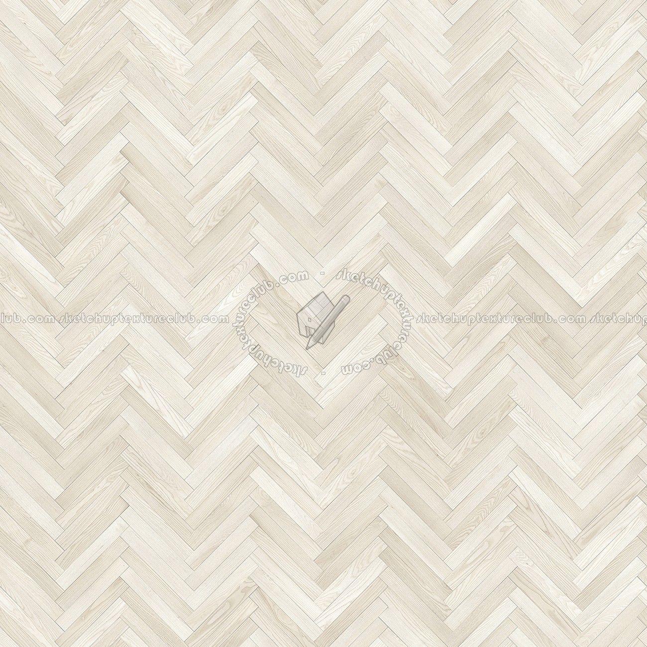 Texture Seamless Herringbone White Wood Flooring Texture