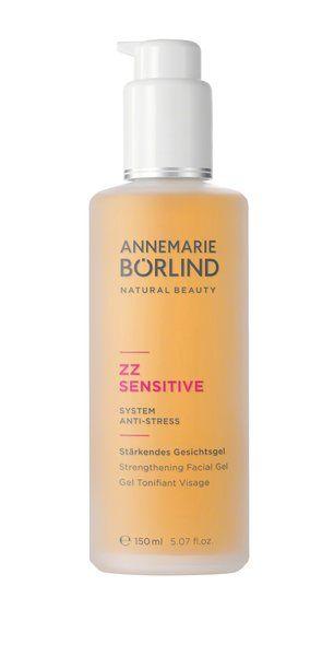 Das vegane Annemarie Börlind ZZ Sensitive Stärkendes Gesichtsgel wirkt erfrischend und beruhigend. Die Haut wird damit optimal auf die anschließende Tages-