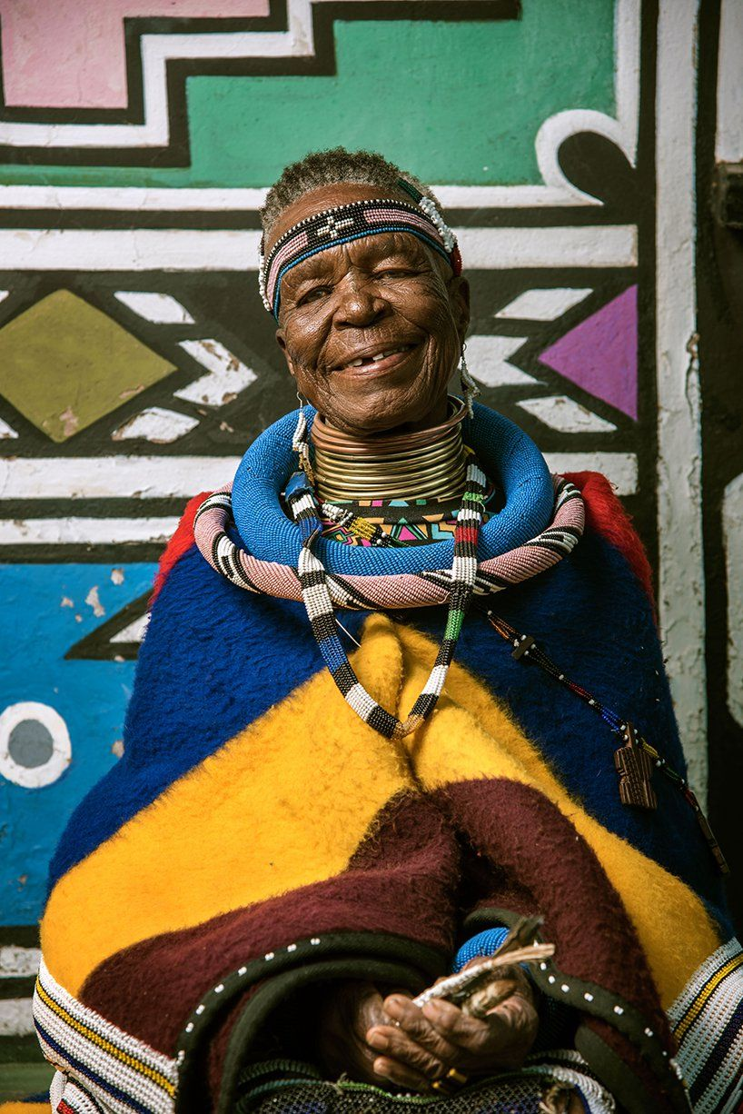 Bmw and south african artist esther mahlangu catapult ndebele art to