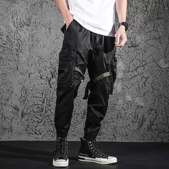 THE CREPUSCULE   TECHWEAR PANTS  BOTTOMS Post Apocalyptic Fashion 92de00c145b