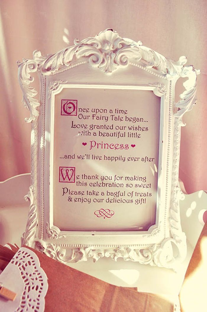 Pink Fairytale Baby Shower Party Ideas, Decor, Planning