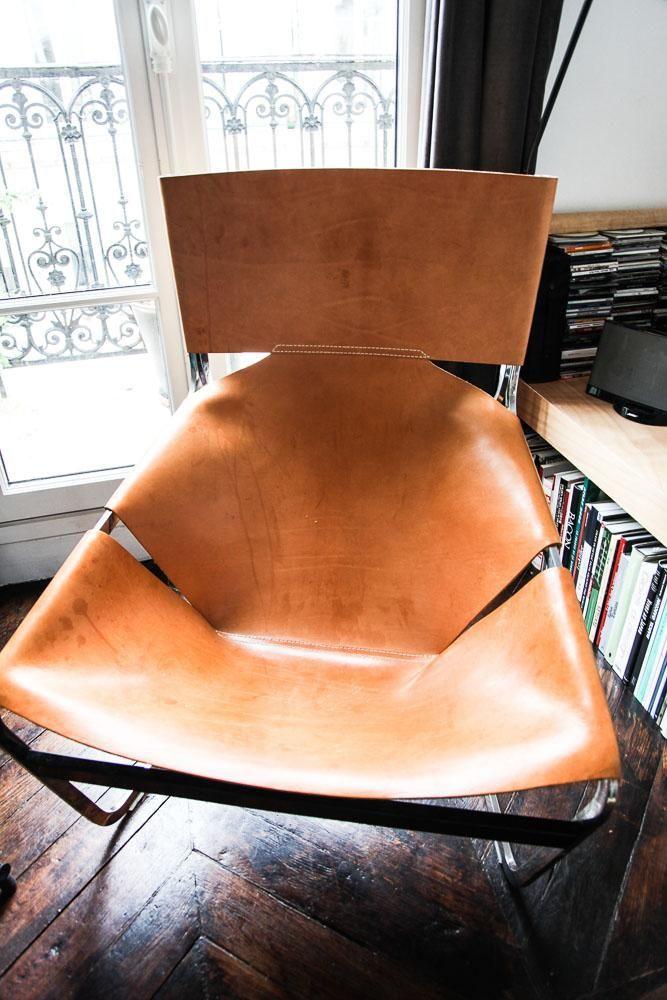 chaise de jardin signé pierre paulin